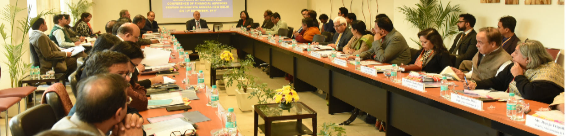 Conference of Financial Advisors Pravasi Bharatiya Kendra New Delhi on 14th December 2017